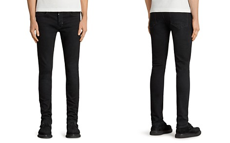 ALLSAINTS Balboa Rex Slim Fit Jeans in Black - Bloomingdale's_2
