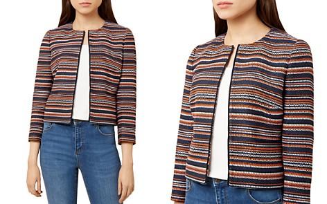 HOBBS LONDON Tammi Striped Tweed Jacket - Bloomingdale's_2