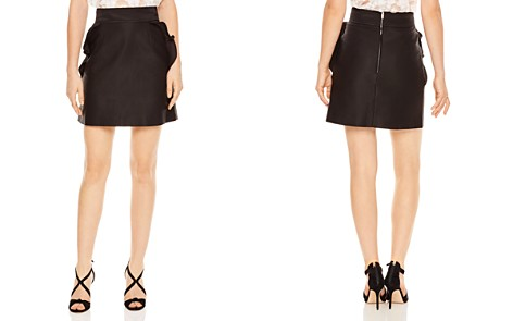 Sandro Fanette Ruffled A-Line Mini Skirt - Bloomingdale's_2