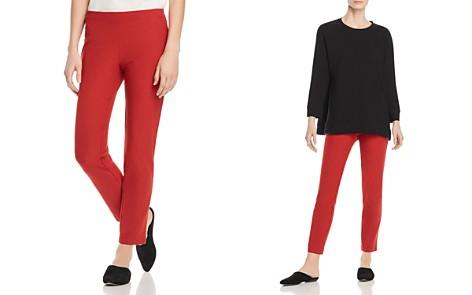Eileen Fisher Slim Pull-On Ankle Pants - Bloomingdale's_2