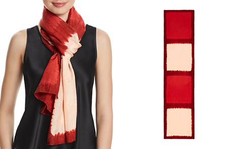 Eileen Fisher Silk Tie-Dye Scarf - Bloomingdale's_2