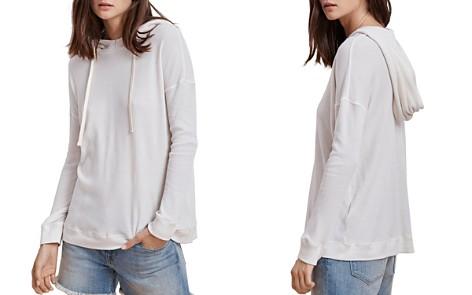 Velvet by Graham & Spencer Charlotte Waffle-Knit Hooded Sweatshirt - Bloomingdale's_2