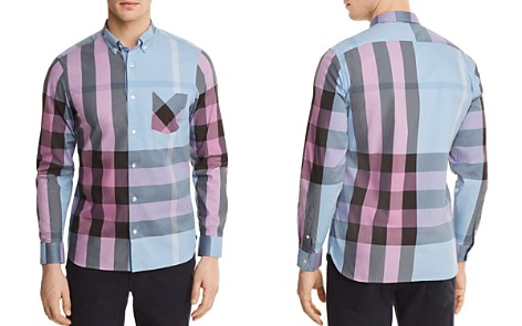 Burberry Thornaby Plaid Regular Fit Button-Down Shirt - Bloomingdale's_2