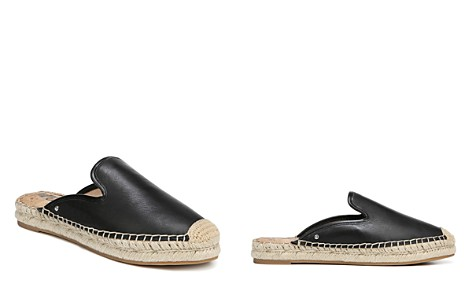 Sam Edelman Women's Kerry Leather Espadrille Mules - Bloomingdale's_2
