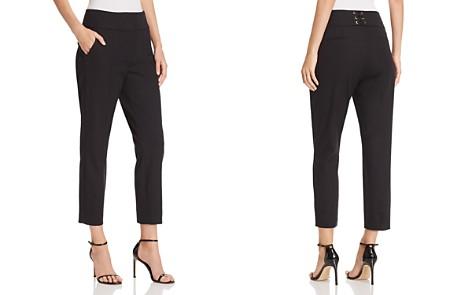 Elie Tahari Alanis Straight Cropped Pants - Bloomingdale's_2