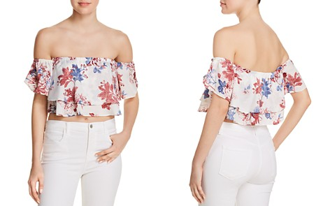 MISA Los Angeles Suvi Off-the-Shoulder Top - Bloomingdale's_2