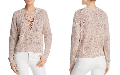 Splendid Lace-Up Sweater - Bloomingdale's_2