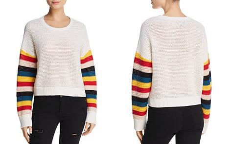 Honey Punch Rainbow-Sleeve Sweater - Bloomingdale's_2