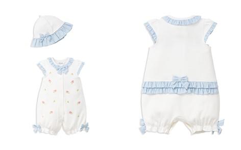 Little Me Girls' Spring Flower Romper & Hat Set - Baby - Bloomingdale's_2
