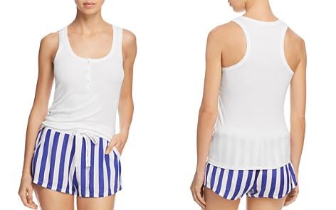 Calvin Klein Tank & Striped Shorts PJ Set - Bloomingdale's_2