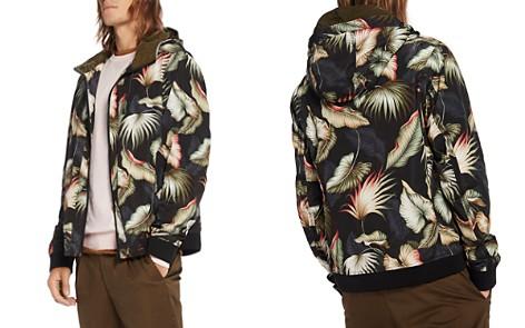 Scotch & Soda Leaf Print Hooded Jacket - Bloomingdale's_2