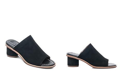 Bernardo Women's Suede Block Heel Slide Sandals - Bloomingdale's_2