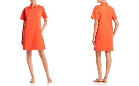 Eileen Fisher Short-Sleeve Shirt Dress - Bloomingdale's_2