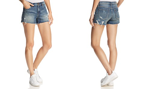 BLANKNYC Distressed Denim Shorts in Blamestorming - Bloomingdale's_2