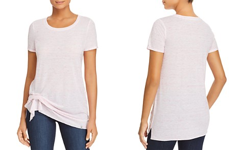 Marc New York Performance Space-Dyed Cinched-Hem Tee - Bloomingdale's_2