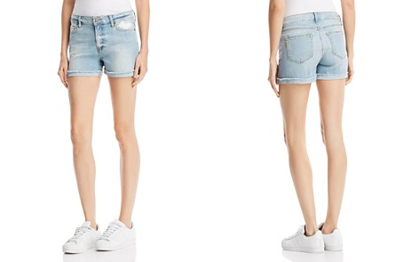 PAIGE Jimmy Jimmy Denim Shorts in Bethel Destructed - Bloomingdale's_2
