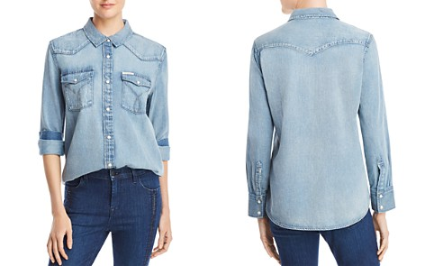 Calvin Klein Jeans American Iconic Western Shirt - Bloomingdale's_2