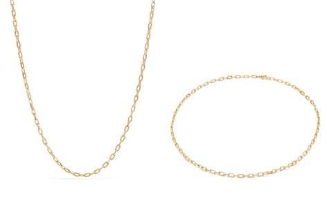 David Yurman Madison Thin Chain Necklace in 18K Gold - Bloomingdale's_2