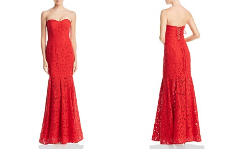 Decode 1.8 Strapless Lace Gown - Bloomingdale's_2