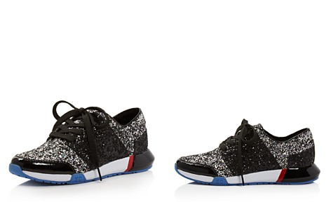 Kenneth Cole Women's Sumner Glitter Lace Up Sneakers - Bloomingdale's_2
