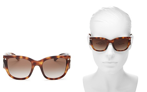 Valentino Women's Square Sunglasses, 51mm - Bloomingdale's_2