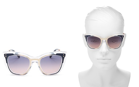Valentino Women's Square Sunglasses, 50mm - Bloomingdale's_2