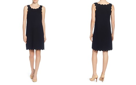 CATHERINE Catherine Malandrino Joy Scallop Shift Dress - Bloomingdale's_2