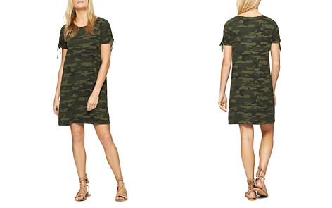 Sanctuary Ojai Camo Drawstring Sleeve Tee Dress - Bloomingdale's_2