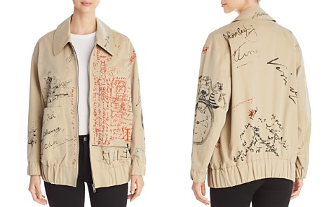 Burberry Barnhall Scribble Bomber Jacket - Bloomingdale's_2