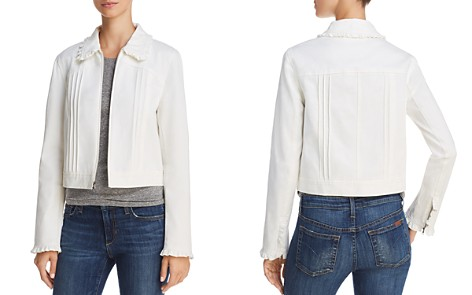 Rebecca Taylor Ruffle-Trimmed Twill Jacket - Bloomingdale's_2