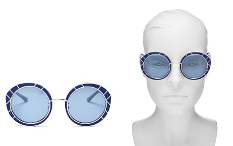 Tory Burch Round Sunglasses, 51mm - Bloomingdale's_2