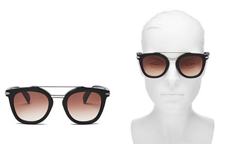 rag & bone Brow Bar Round Sunglasses, 50mm - Bloomingdale's_2