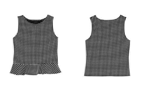 AQUA Girls' Textured Ruffle Top, Big Kid - 100% Exclusive - Bloomingdale's_2