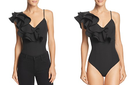 Alpha and Omega Ruffled Bodysuit - Bloomingdale's_2
