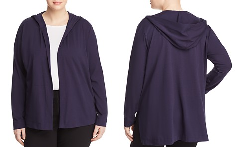 Eileen Fisher Plus Hooded Cardigan - Bloomingdale's_2