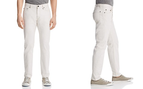 John Varvatos Collection Woodward Straight Fit Jeans in White - Bloomingdale's_2