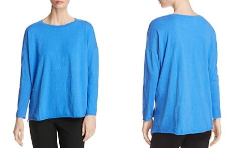 Eileen Fisher Organic Cotton Long-Sleeve Tee - Bloomingdale's_2