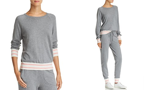 Equipment Axel Striped-Trim Sweater - Bloomingdale's_2