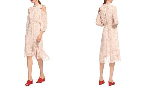 Whistles Lip-Print Cold-Shoulder Dress - Bloomingdale's_2