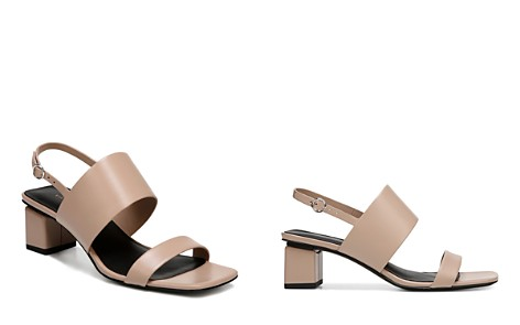 Via Spiga Women's Forte Leather Slingback Block Heel Sandals - Bloomingdale's_2