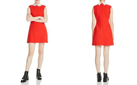 Maje Rangat Peter Pan Collar Mini Dress - Bloomingdale's_2