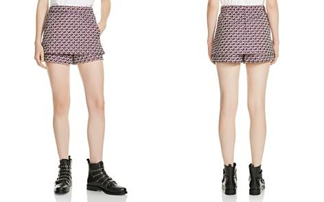 Maje Irosa Printed Shorts - Bloomingdale's_2