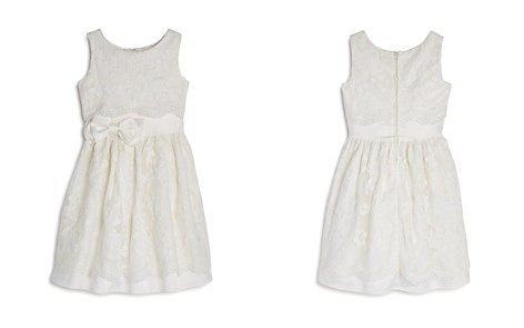 US Angels Girls' Satin Lace-Overlay Dress - Little Kid - Bloomingdale's_2