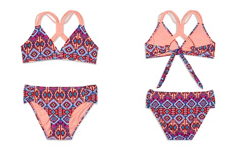 Gossip Girl Girls' Brave Spirit 2-Piece Swimsuit - Big Kid - Bloomingdale's_2