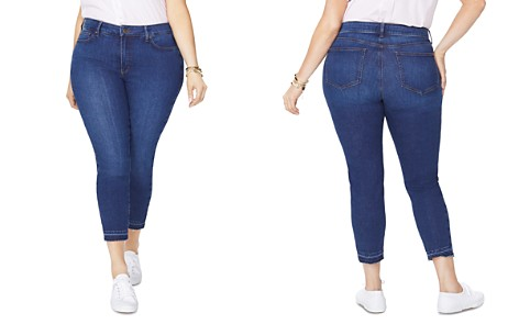 NYDJ Plus Alina Released Hem Legging Jeans in Cooper - Bloomingdale's_2