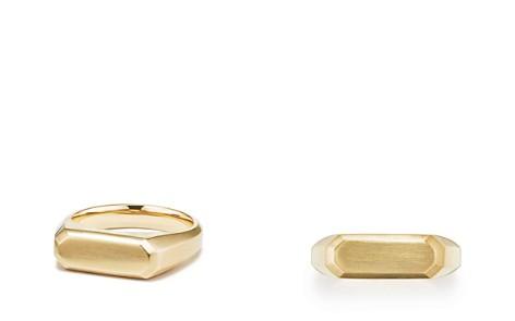 David Yurman Streamline Signet Ring in 18K Gold - Bloomingdale's_2