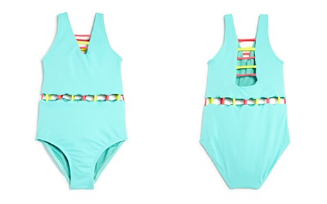 Peixoto Girls' Jade Cutout Swimsuit - Big Kid - Bloomingdale's_2