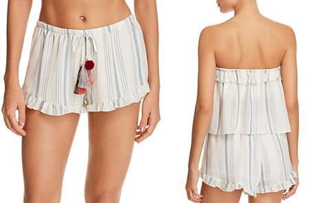 Surf Gypsy Pom-Pom Swim Cover-Up Shorts - Bloomingdale's_2