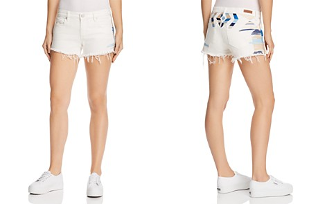 BLANKNYC Astor Embroidered Denim Shorts in Best Coast - Bloomingdale's_2