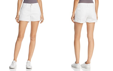 BLANKNYC Cuffed Denim Shorts in Greate White - Bloomingdale's_2